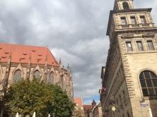 One of Nuremberg's many churches.
