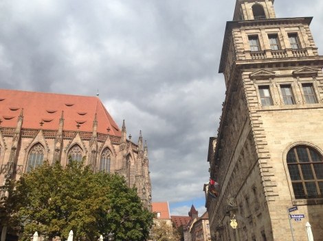 One of Nuremberg's many churches.